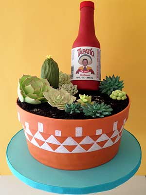 Tapatío Succulent Cake
