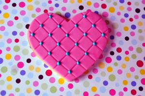 Embossed Quilted Heart