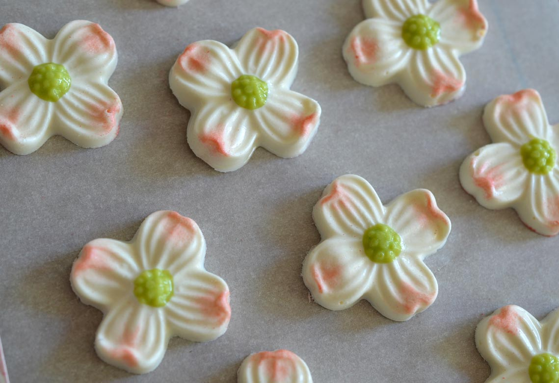 Dainty Dogwood Chocolates