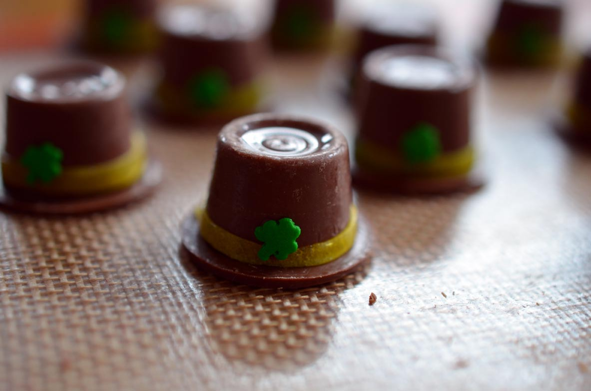 St. Patty's Day Chocolate Hats