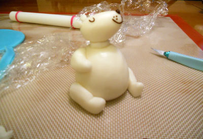 Sculpting the Polar Bear