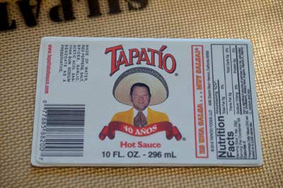 40th Birthday Tapatio Label