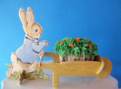 Peter Rabbit and Wheelbarrow