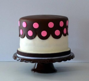 Cake & Cupboard Cake on Pedestal