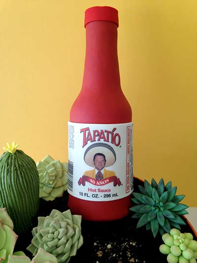 Tapatío 40th Birthday Cake