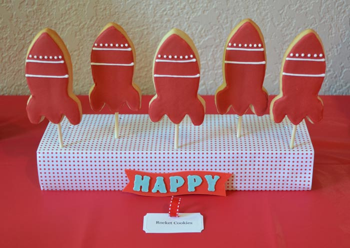Rocket pop cookies