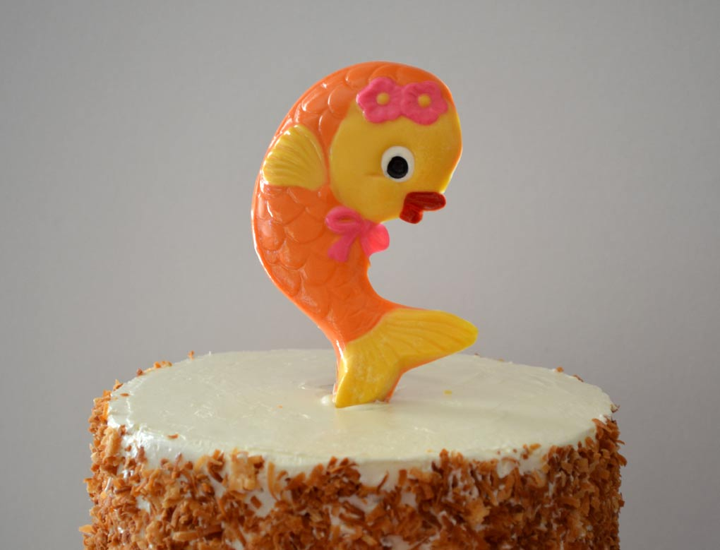 Dancing Goldfish Cake