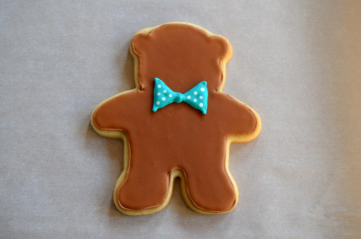 Boy Teddy Bear Cookie