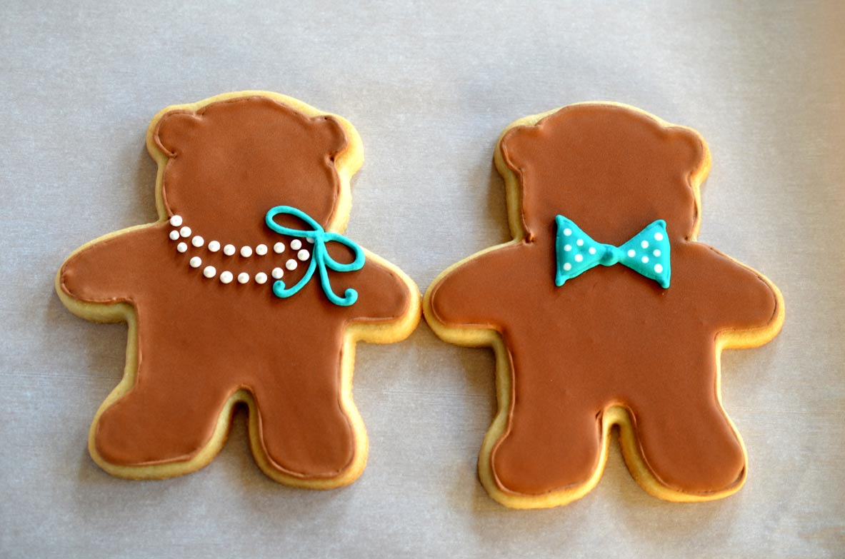 Decorate-A-Teddy-Bear Cookies