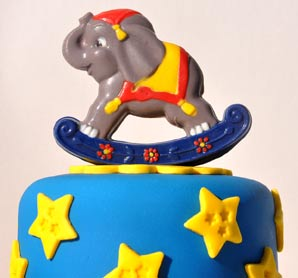 Elephant Chocolate Topper