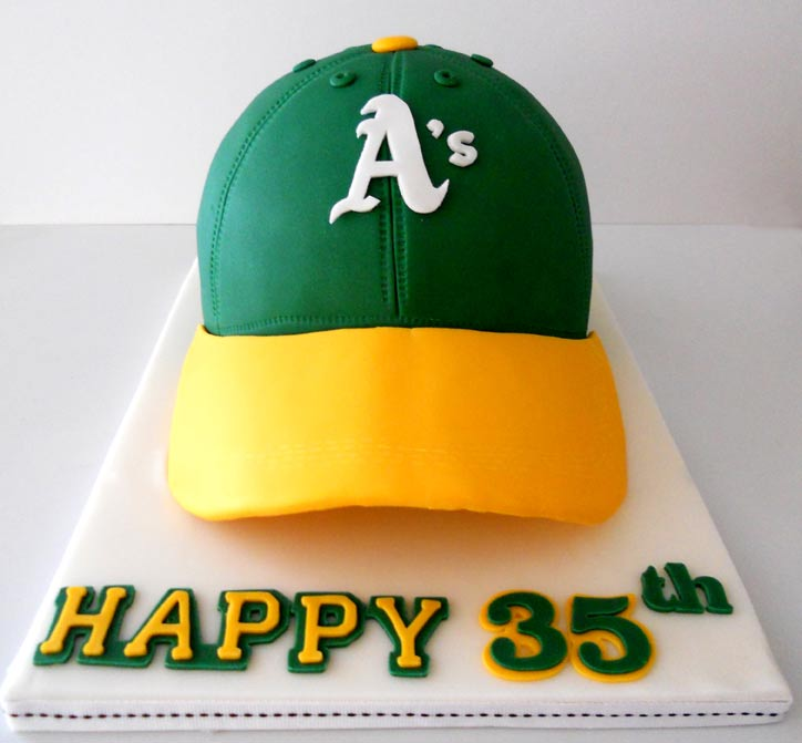 Oakland A's Cake
