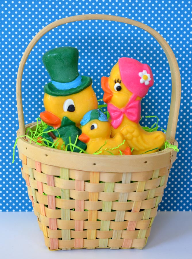 Ducky Easter Basket