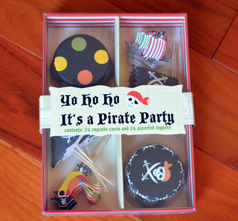 Meri Meri Pirate Cupcake Kit