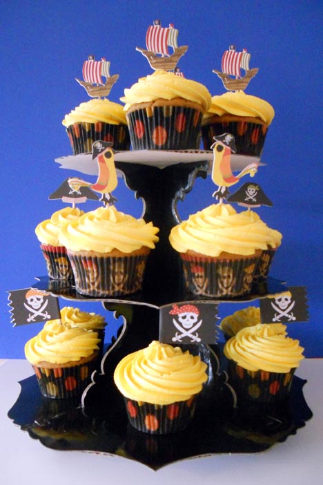 Pirate Cupcakes
