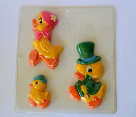 Duck Family in Mold