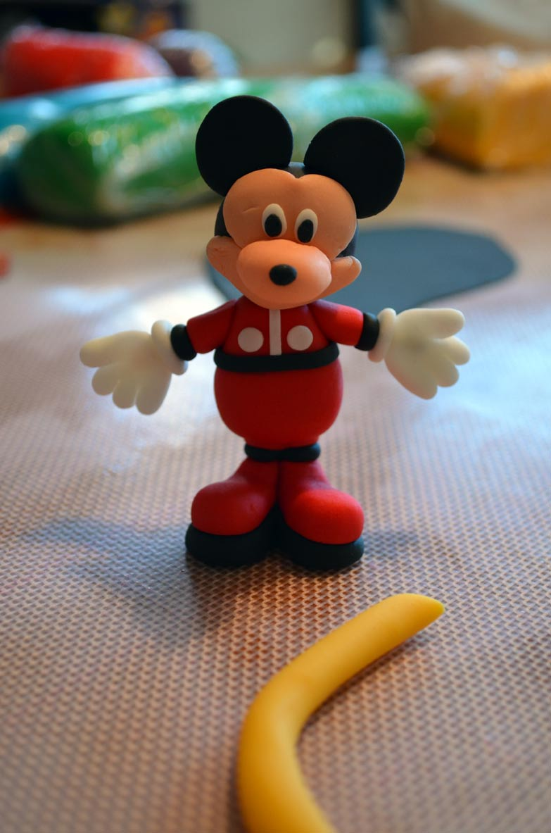 Mickey Mouse edible figure