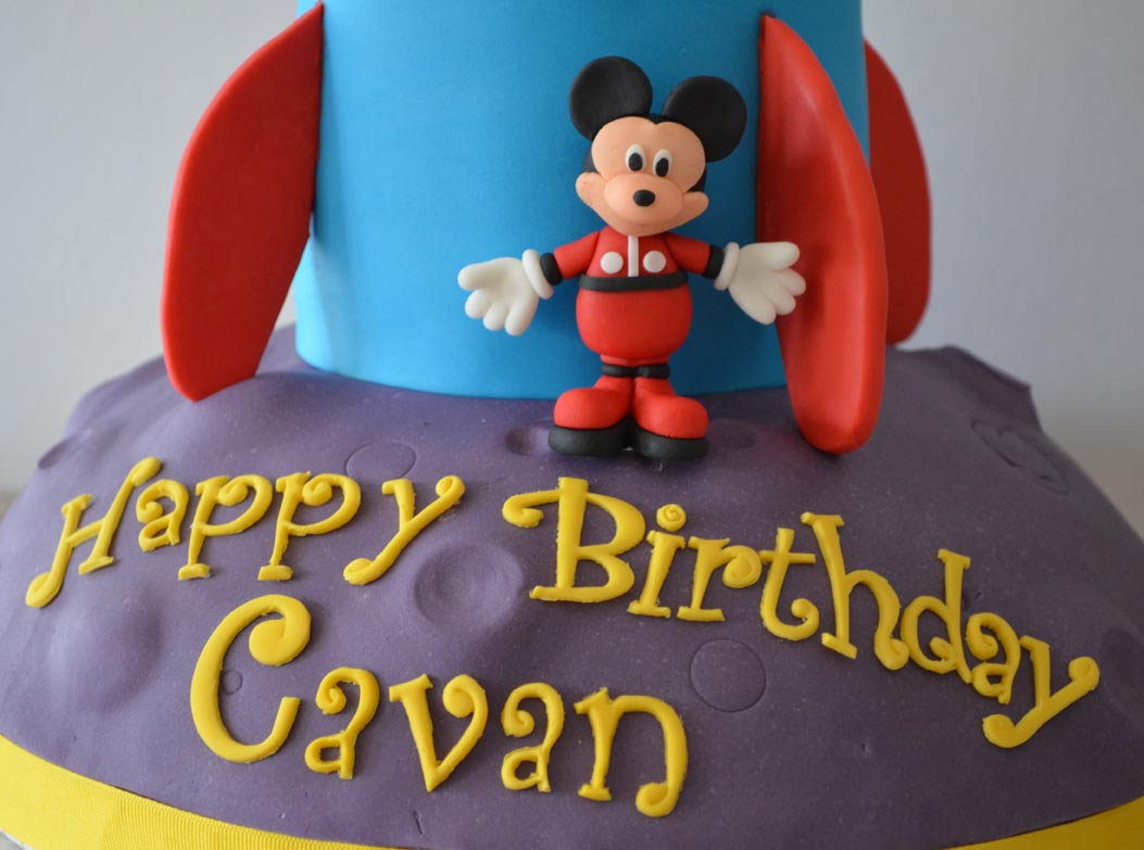 Mickey Rocket Cake