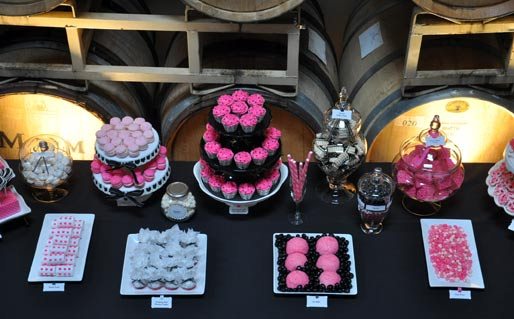 Dessert Table from the top