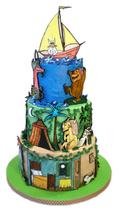 Wild Things Cake